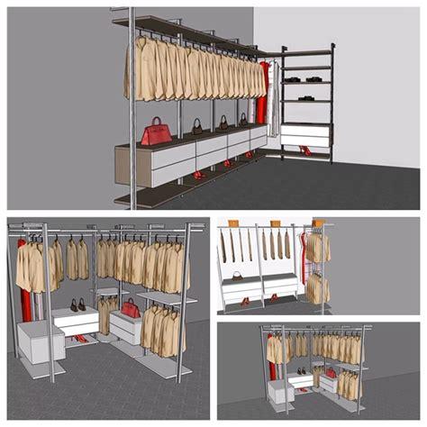 Walk In Wardrobe Rails by Wooden Clothes Rail And Cheap Wardrobe Closet Walk In