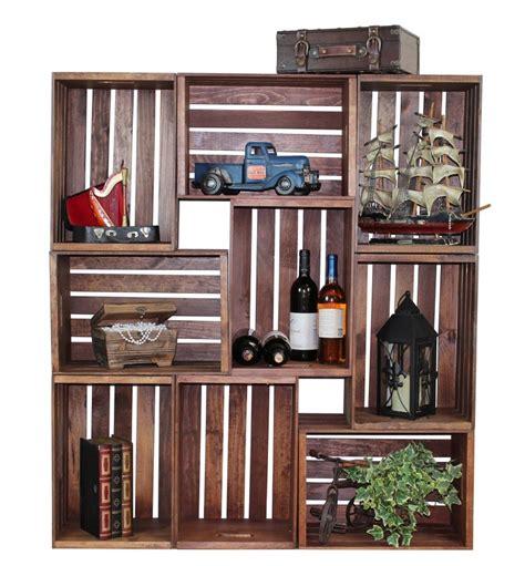 Mueble Con Caja De Frutas   muebles reciclados hechos con cajas de frutas