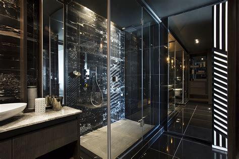 schwarzes bad dise 241 o de minidepartamento moderno interiores elegante
