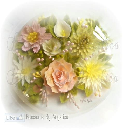 flower design jello jelly art pudding gelatin artistry pinterest