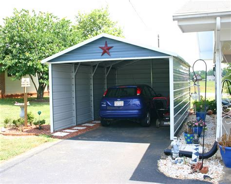 Outdoor Car Port by West Coast Carport Packages