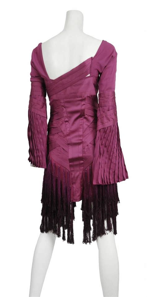 Tassel Smock Fuchia by Gucci Fuchsia Tassel Dress For Sale At 1stdibs