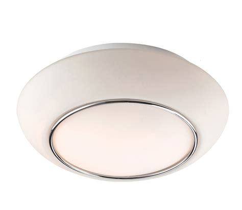 chrome and opal glass flush fitting bathroom ceiling light ip44 firstlight style flush fitting ceiling light opal glass with chrome 8377ch from easy lighting