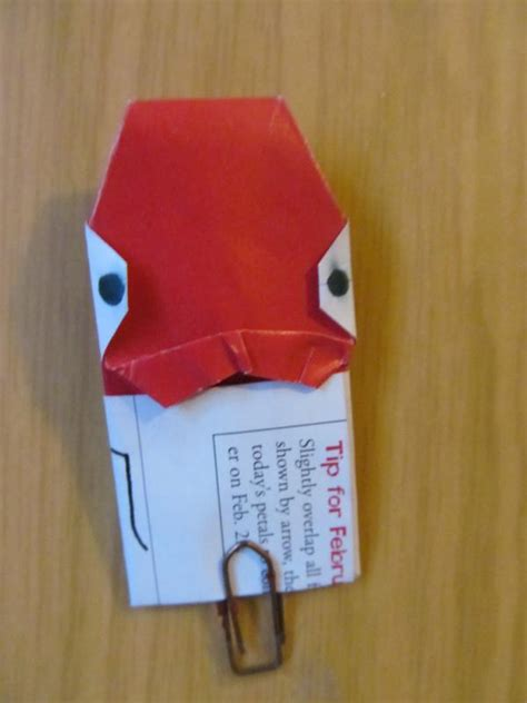 Origami Admiral Ackbar - admiral ackbar for the return of the jedi showcase