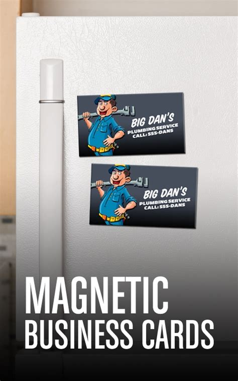 how to make magnetic business cards magnetic business cards tekton business