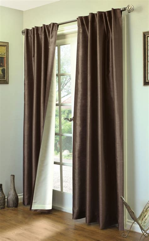 ways to drape curtains ming lined thermasilk two ways to hang curtain panels pair