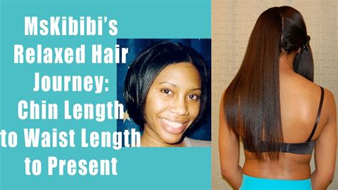 how long to grow out chin length hair with pictures my relaxed hair journey chin to below waist length