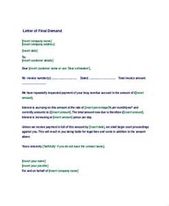 Demand Letter Response Time Sle Demand Letter 7 Documents In Pdf Word