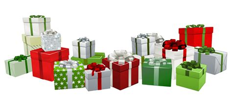 top 28 christmas gift png colorful gift png clipart