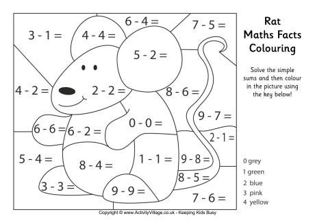 number names worksheets 187 colouring maths sheets free
