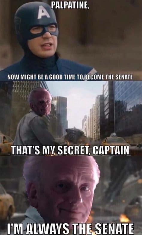 emperor palpatine meme wars chancellor palpatine has conquered the meme