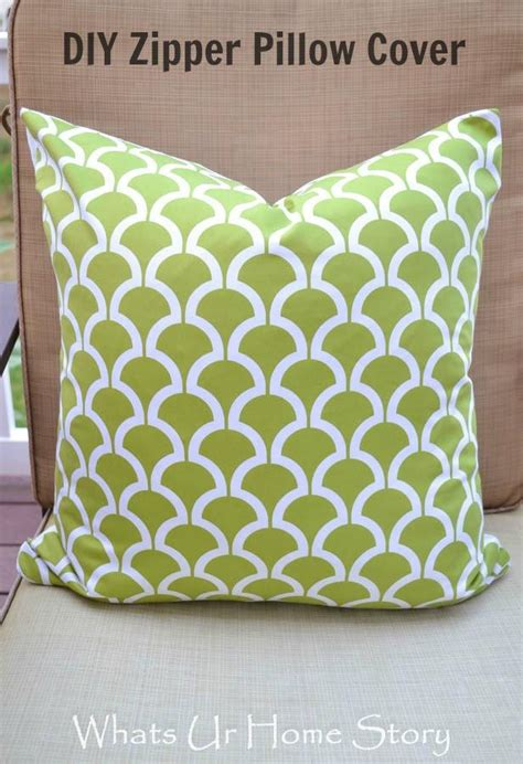how to sew a pillow with zipper zipper pillow cover
