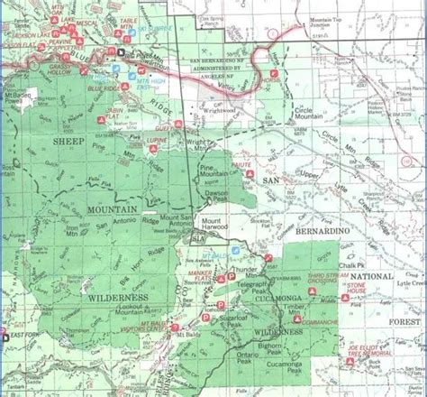 california map national forests lassen national forest map california map travel