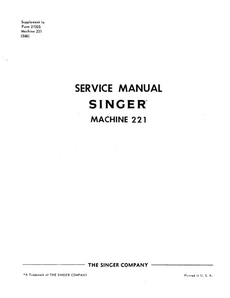 221 Service Manual By Rex Reeves Issuu