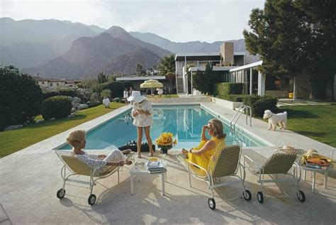 Kaufmann House Palm Springs by Slim Aarons Desert Kaufmann House Palm Springs