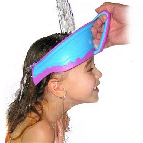 baby shower cap shoo visor bath visor waterproof bath visor hat adjustable baby shower cap