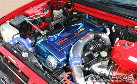 Mesin Rb26dett modifikasi nisan skyline r33 1996 racing