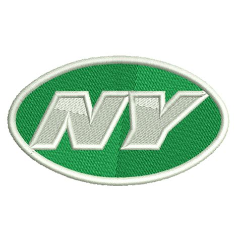 logo embroidery nyc new york jets embroidery design instant