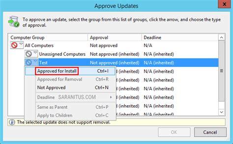 install windows 10 via wsus อ ปเดต windows 10 version 1803 ผ านทาง windows server