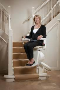 Automatic Chair Lift For Stairs by About Stair Lifts How They Keep You Safe
