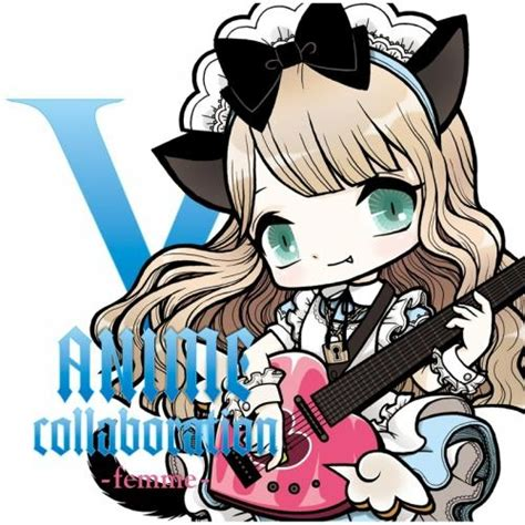 V Anime Collaboration Femme by アルバム V Anime Collaboration Femme ゲーマーズオンラインショップ