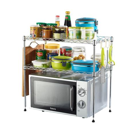 Microwave Oven With Metal Rack by 2017 Chrome New Microwave Oven Metal Wire Rack From