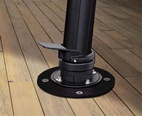 Patio Umbrella Deck Mount Mounting Kit For Cantilever Umbrellas