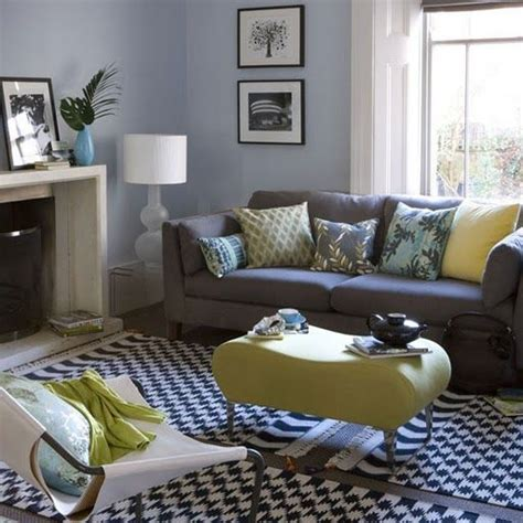 Yellow And Gray Decorating Ideas by Yellow Grey Idea For Living Room Decorating Ideas