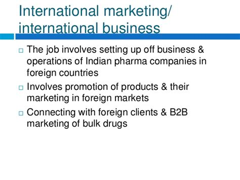 Mba In Pharmaceutical Companies In India by Careers In Pharma Industry