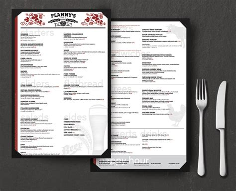 design cafe pacific design center menu restaurant menu design by phoenix freelance graphic