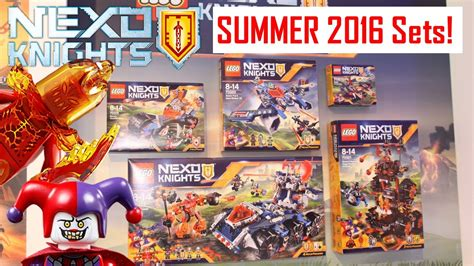 Summer Set 2 lego nexo knights summer sets pictures