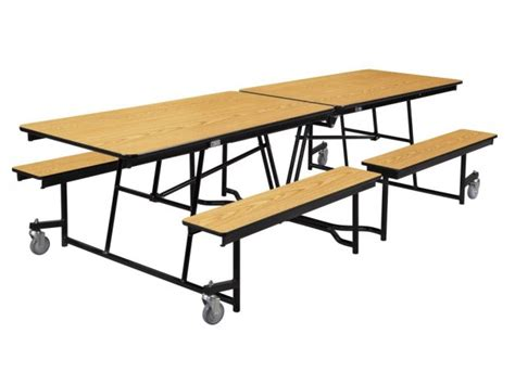 nps mobile school cafeteria table plywood 10