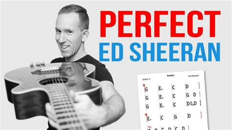 ed sheeran perfect boxca perfect ed sheeran guitar lesson easy how to play