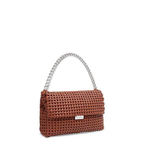 Stella Mccartney Felt And Plastic Bag by Becks Weaved Shoulder Bag Stella Mccartney