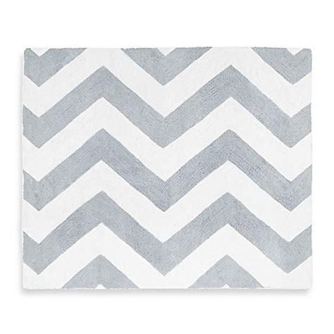 chevron grey and white rug sweet jojo designs chevron rug in grey white buybuy baby