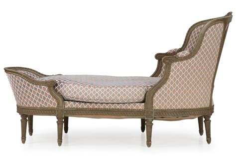 antique chaise lounge for sale french louis xvi style painted antique chaise lounge