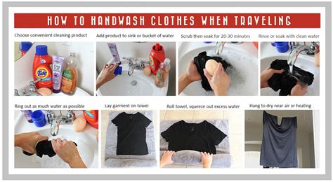 how to wash clothes in sink how to wash clothing when traveling easy by