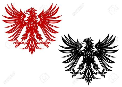 sea eagle tattoo designs power retro eagles for heraldry or design royalty