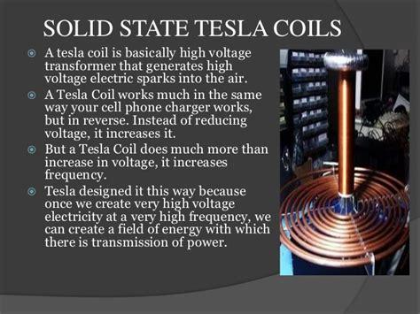 Application Of Tesla Coil Wireless Power Transmission Through Tesla Coils