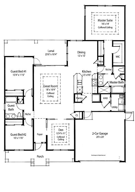 3 bedroom guest house plans 301 moved permanently