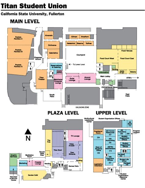 csuf map college of communications directions