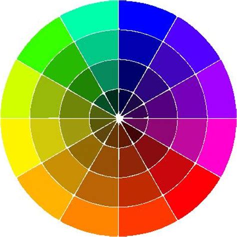 pink color wheel getting dressed how i pick colors a thought chronicle
