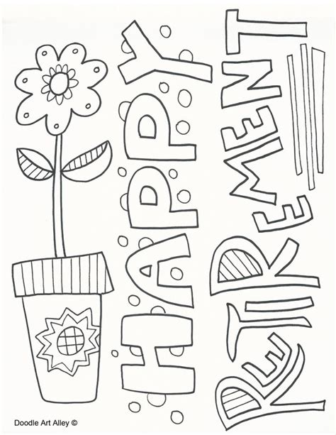 Celebration Coloring Pages Doodle Art Alley Celebration Coloring Pages