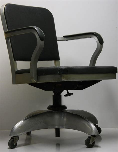 machine age goodform form emeco office chair aluminum