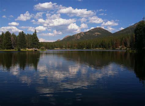 sprague lake lake  rocky mountain national park