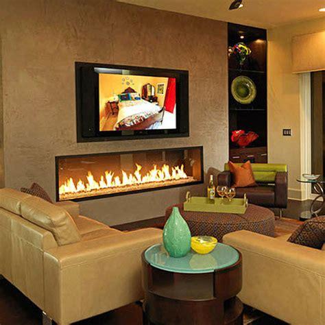 lineafire fireplaces horizontal 240 wood and gas
