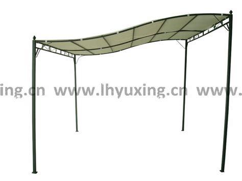 wand pavillon metall 3x3m metall garten pavillon wand pavillon gartenpavillon