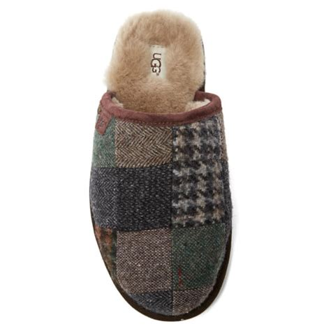 Ugg Patchwork - ugg s scuff patchwork sheepskin slippers patchwork