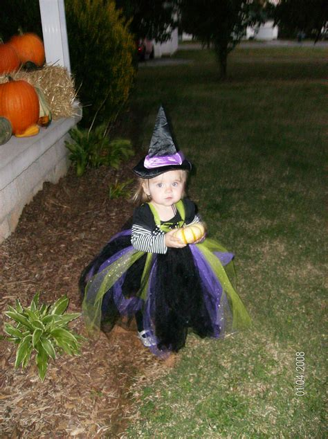 Handmade Witch Costume - witch costume diy