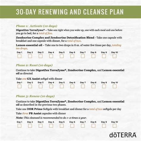 Doterra Detox 30 Day Calendar by Best 25 30 Day Cleanse Ideas On 30 Day